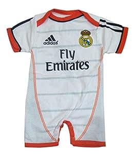 Bébé Jumpsuit Football Club 6-9 mois Real Madrid Home Ronaldo