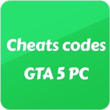 Cheats codes - GTA 5 PC