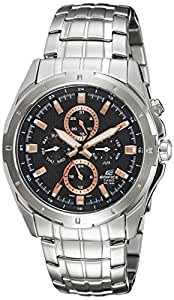 Casio Edifice Black Dial Men's Watch - EF-328D-1A5VDF (ED374)