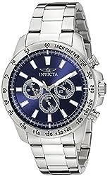 Invicta Speedway Analog Blue Dial Mens Watch-20338