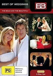 Amour, gloire et beauté / The Bold and the Beautiful - Best of Weddings - 5-DVD Box Set [ Origine Australien, Sans Langue Francaise ]