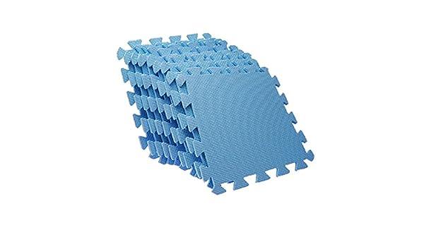 Sodial r eva blu incastro di puzzle in schiuma tappetini anti