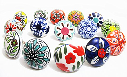 10-x-mix-vintage-look-flower-ceramic-knobs-door-handle-cabinet-drawer-cupboard-pull
