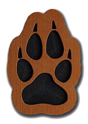 toejamr Stomp Pad–Wolf Paw–Braun (Schnee Stomp Pad)