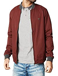 3fc61f72523f Threadbare Maple Mens Baseball Varstiy Collar Bomber Jacket MA1 Lightweight  Coat