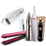 Syska Hair Straightener, Men Shaver, Nose Hair Trimmer, Women Precision and Bikini Trimmer and Hair Dryer (Multicolor)