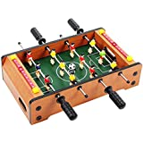 Happy GiftMart Indoor Mid Size Foosball Table Football Game, Multi Color Soccer Game 51 Cm