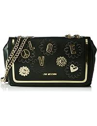 Love Moschino - Moschino, Shoppers y bolsos de hombro Mujer, Schwarz (Black), 7x17x30 cm (B x H T)