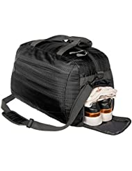 Coreal Duffle Bag Sports Gym Travel Camping Luggage Including Shoes Compartment Women Men