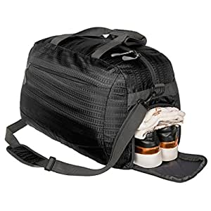 Coreal Duffle Bag Sports Gym Travel Luggage Including Shoes Compartment