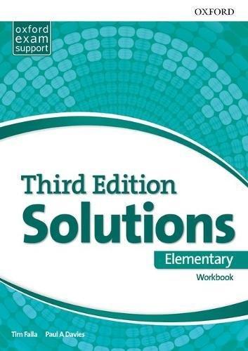 Solutions 3rd Edition Elementary. Workbook (Solutions Third Edition) por Tim Falla