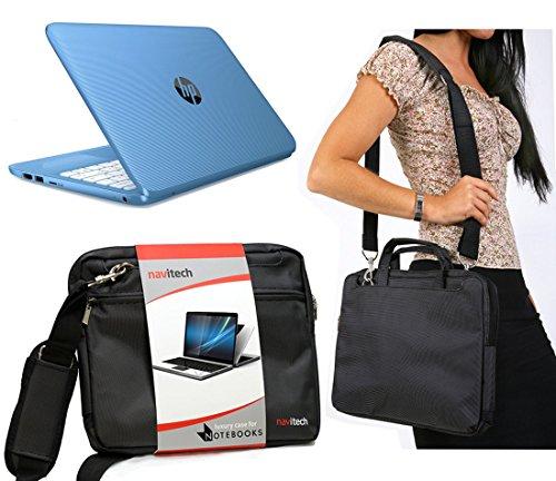 Navitech Tragetasche für HP 15-ay168sa 39,6 cm (15,6 Zoll) Laptop mit Intel CoreTM i7 Prozessor der 7. Generation, Schwarz