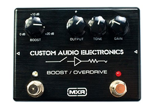 PEDALES EFECTO C A E    DUNLOP (MC402) CUSTOM AUDIO ELECTRONICS (BOOST) OVERDRIVE