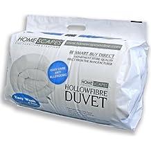 Homescaes Edredón nórdico SuperConfort en fibra hueca siliconada para cama de 90 con una densidad de 550gm²