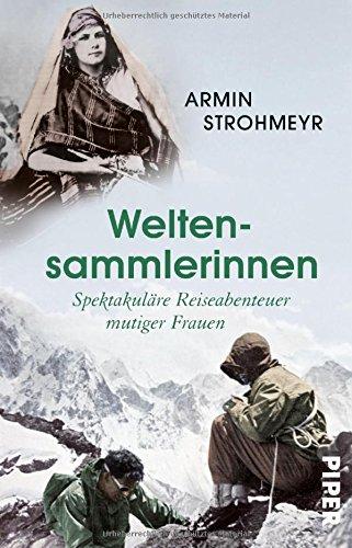 Buchseite und Rezensionen zu 'Weltensammlerinnen' von Armin Strohmeyr