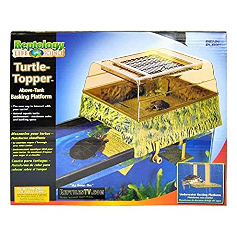 Penn Plax Decorative Turtle Topper/Basking Platform, 14 inch Wide by Monster Pets