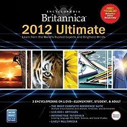 Encyclopedia Britannica Ultimate 2012