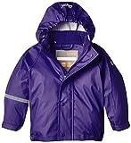 CareTec Kinder Wasserdichte Regenjacke, Violett (Purple 633), 116