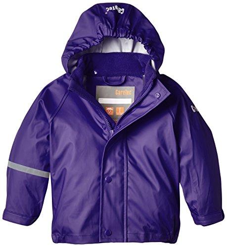CareTec Kinder wasserdichte Regenjacke (verschiedene Farben), Violett (Purple 633), 92