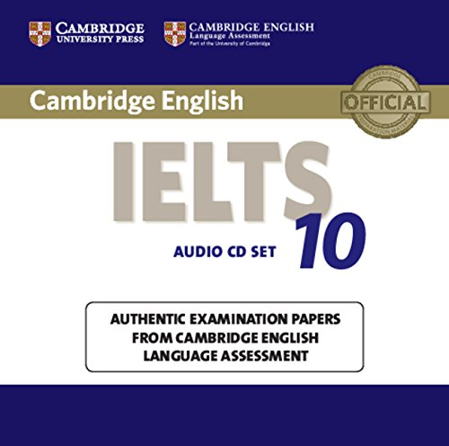 Cambridge IELTS 10 Audio CDs (2) (IELTS Practice Tests)