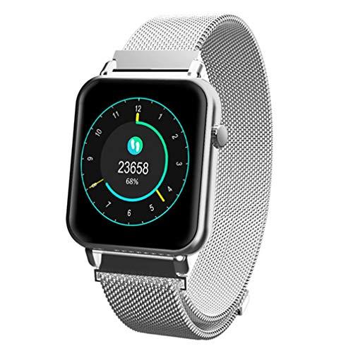 JIEGEGE Sport Smart Watch, Fitness Tracker, Herren Damen Farbdisplay Smartwatch, Fashion Fitness Tracker Pulsmesser, Für iPhone Und IOS -