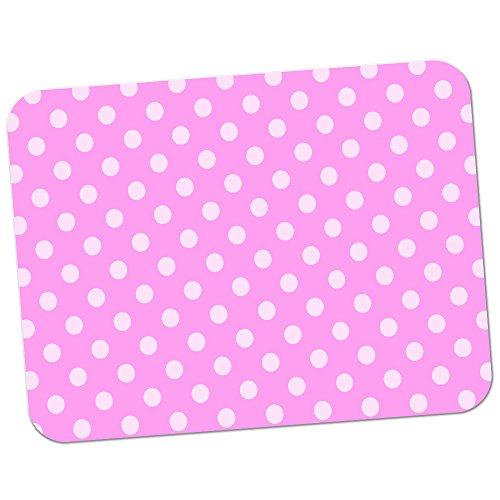 polka-dot-mania-tapis-de-souris-en-caoutchouc-epais-pour-un-confort-doux-toucher-finition-pastel-pin
