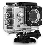 Excelvan V60- Action Cam WiFi 4K 30FPS FHD 1080P 170° Grandangolare 2.0' Schermo LCD Impermeabile Sports Camera Fotocamera Videocamera Digitale Cam Video Car DVR