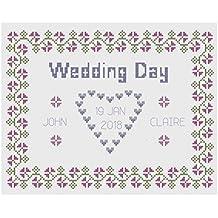 Wedding Day Sampler Cross Stitch Kit