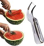 Watermelon Slicer, Kenor® Watermelon Knife & Fruit Slicer Fastest Cutter Multi-purpose Stainless Steel, Smart Kitchen Gadget & Perfect Gift