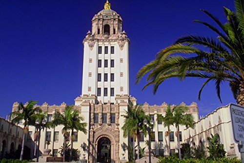 803083 City Hall Beverly Hills California USA A4 Photo Poster Print 10x8