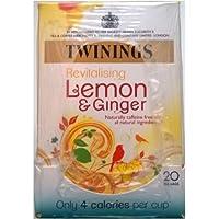 Twinings limón y jengibre Bolsitas de té - 4 x 20 de