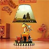 Kindertischlampe Schlafzimmer Nachttischlampe warme...