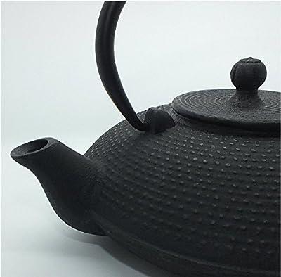 teeblume - Théière en fonte Qidong 0,8 l noire