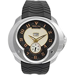 Franc Vila Esprit Unique Annual Calendar Rose Gold Index Automatic Men's Watch FVa8qa