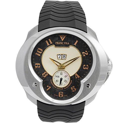 Franc Vila Esprit Einzigartige Jahr, Rose Gold Index Automatische Herren-Armbanduhr fva8qa