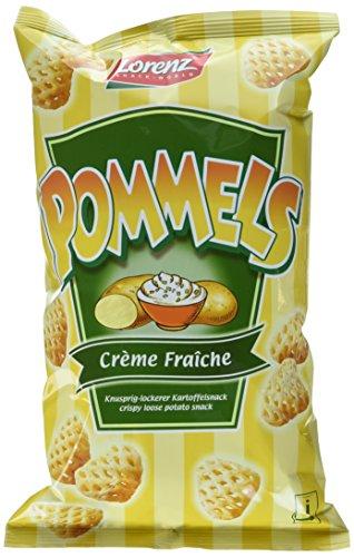 Lorenz Snack World Pommels Crème Fraiche, 12er Pack (12 x 75 g)