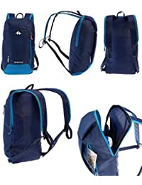 Quechua 630328 ARP Polyester Backpack, 10 Ltrs (Blue)