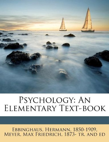 Psychology: An Elementary Text-book