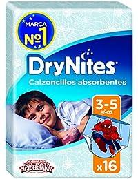 Huggies DryNites, 3 - 5 años niño, 16 pañales