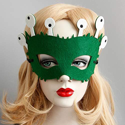 Für Kostüm Erwachsene Figur Märchen - IBLUELOVER Maskerade Maske Kostüm Party Halloween Weihnachten Venezianische Masken Füchse Hirsche Frösche Augenmaske Karneval Fasching Tanz Schleier Märchen Cosplay für Kinder Erwachsene Festival