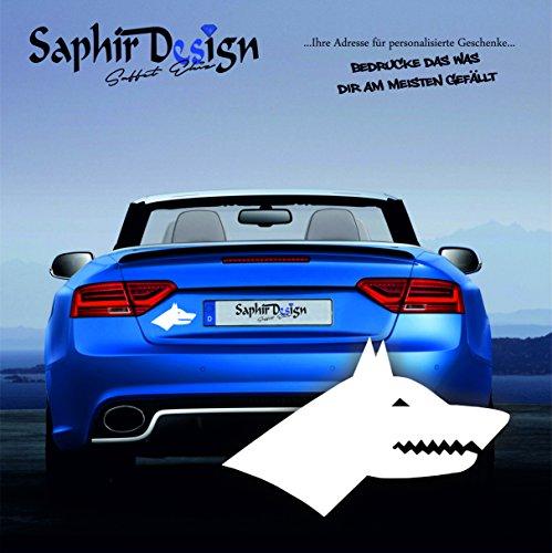 Göktürk Amblem / Dirilis / Islam / Sehr Coole Autoaufkleber / 16x10cm / A139 Farbe Weiss