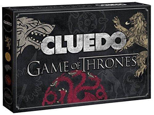 CLUEDO GAME OF THRONES - Zwei Morde, zwei Geheimnisse, zwei Orte und jede Menge Verdächtige  | Detektiv-Brettspiel | Gesellschaftsspiel | Familienspiel | Brettspielklassiker |