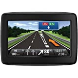 TomTom Start 20 Europe Traffic Navigationssystem (11 cm (4,3 Zoll) Display, 45 Länder, TMC, Fahrspur & Parkassistent, IQ Routes, Map Share) schwarz