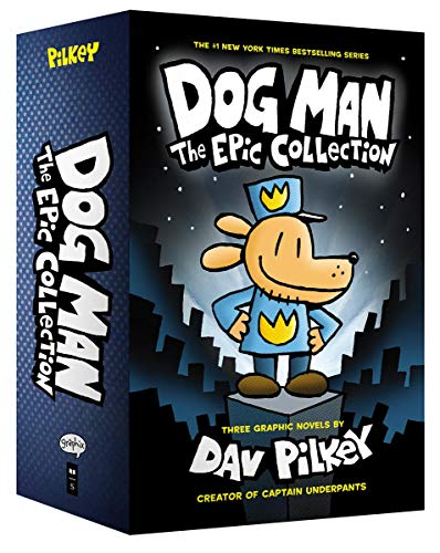 Dog Man 1-3: The Epic Collection por Dav Pilkey