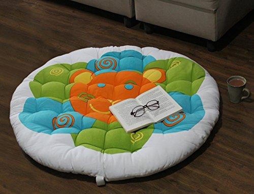 Store Indya, Papasan Lounge Round Coussin Chair Seat Oreiller pour un confort maximum