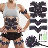 Elettrostimolatore Addominali, Elettrostimolatore Muscolare Trainer Tonificante Cintura per...