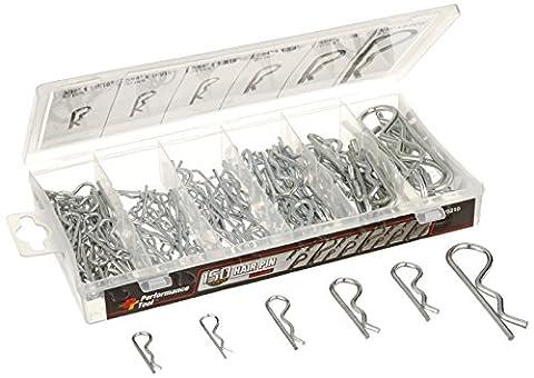 Performance Tool W5210 150 Pc Hair Pin Assortment
