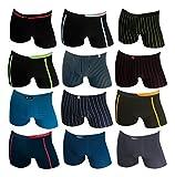 REMIXX 10er Pack Boxershorts Retroshorts Unterhosen Pants Gr. M 5 L 6 XL 7 2XL 8 (L / 6)