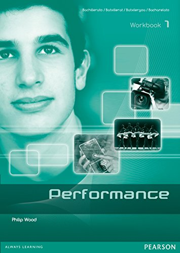Performance 1 Workbook English - 9788498376104