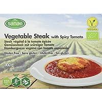Menú Sanae Hamburguesa Vegana Con Tomate Especiado - 4 Paquetes de 300 gr - Total: 1200 gr